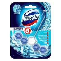 Domestos power 5 ocean kostka toaletowa 55g