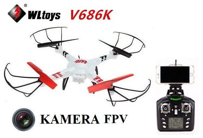 DRON WLToys V686K Kamera FPV Podgląd Na Żywo WiFi zdjęcie 1