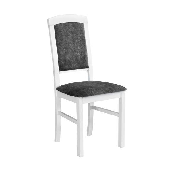 Krzesło Drewniane Nk Iv Do Salonu Białe Ribes