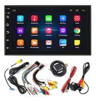 """Radio Samochodowe 2 DIN, Android 8.1 ekran 7"""" GPS dotykowy panel USB"""
