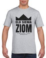 Koszulka męska ELO SIEMA ZIOM s M