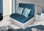 Sofa - fotel rozkładany Ringo Bis - różne kolory (poduszka gratis)