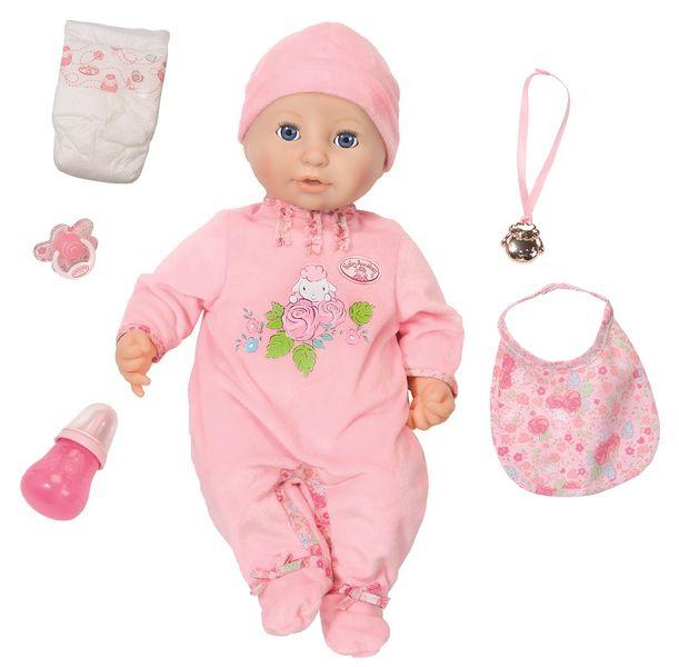 BABY ANNABELL LALKA INTERAKTYWNA 8 FUNKCJI GIRL 794401 zdjęcie 1