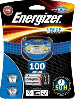 LATARKA CZOŁOWA ENERGIZER VISION 100 LUMENÓW CZOŁÓWKA LED