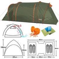 Namiot turystyczny Abarqs GOBI-4B Oliwka - 4 osobowy