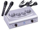 Azusa MIK0115 Mikser karaoke plus dwa mikrofony