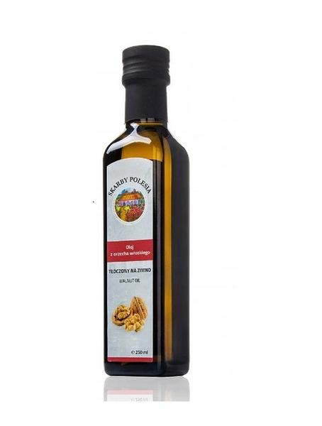 Olej z Orzecha włoskiego tłoczony na zimno 250 ml India na Arena.pl