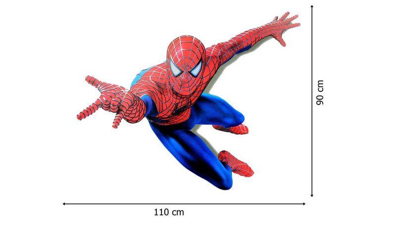 Naklejki Na Sciane Scienne Spiderman 3d Ws 0007 Dekoracje Scienne