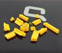 Zaślepki gniazd komputerowych USB HDMI VGA Kolory zaślepek - Żółty