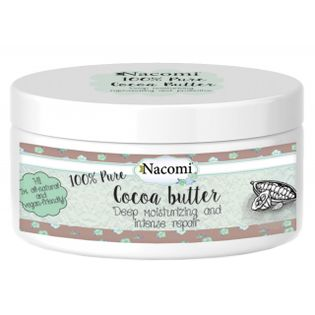 Masło Kakaowe - 100% Naturalne Nierafinowane - Nacomi