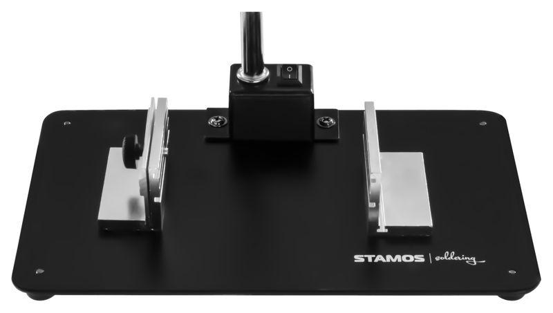 Lampa z lupą - 5 / 10-krotne powiększenie - czarna Stamos S-LP-3S zdjęcie 7