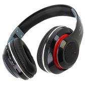 Słuchawki bezprzewodowe nauszne Bluetooth LED M160