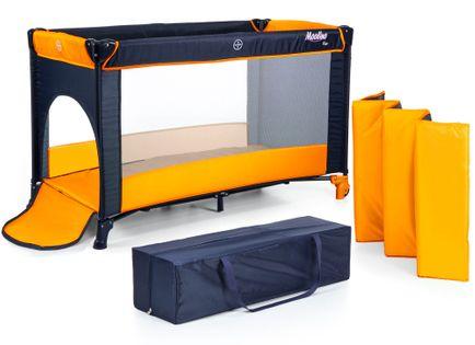Łóżeczko turystyczne Moolino FUN Pomarańczowe
