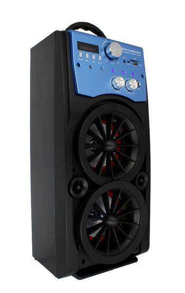 Głośnik Miniwieża Boombox 60W LED Bluetooth + Mikrofon RX-S50 G208Z zdjęcie 6