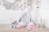 Namiot TIPI wigwam MATA  + 3 poduszki -  NAJWYŻSZA JAKOŚĆ