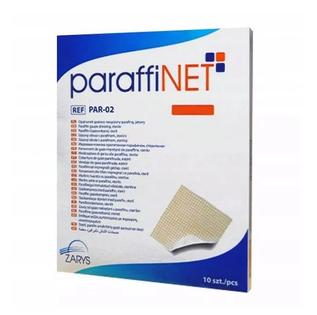 Opatrunek plaster gazowy nasączony parafiną 10 cm x 40 cm