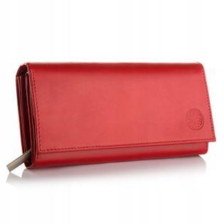 BETLEWSKI portfel damski skórzany duży RFID
