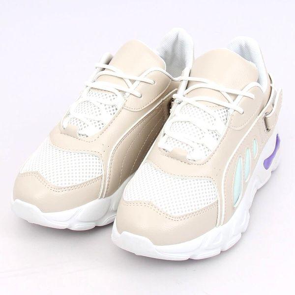 Buty sportowe beżowe BL149 Beige r.39