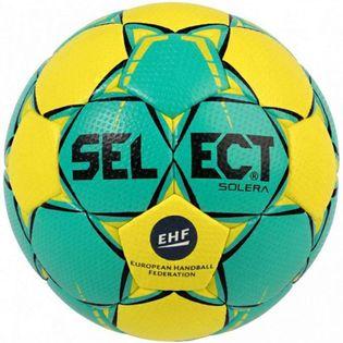 Piłka ręczna Select Solera Mini 0 EHF 2018 zielono-żółta 16155
