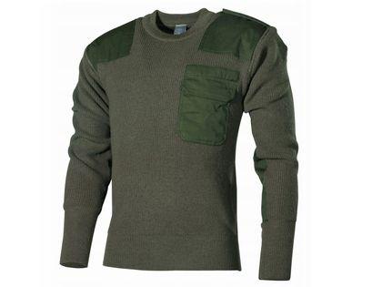Wierna Replika swetra Bundeswehr (Bw) oliwkowy