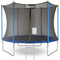 trampolina z siatka Abarqs 8ft 254cm