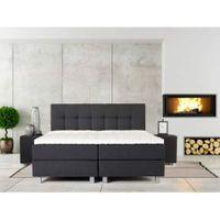 Łóżko kontynentalne ITALY ELEGANCKIE I KOMFORTOWE 160 x 200 cm