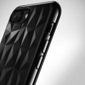 Ringke Air Prism Designerskie Żelowe Etui Pokrowiec 3D Iphone 8 Plus / 7 Plus Szary (Apap0008) zdjęcie 2