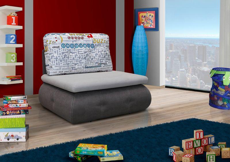 Sofa - fotel rozkładany Matrix - różne kolory zdjęcie 2