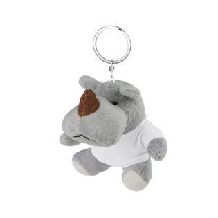 Pluszowy nosorożec, brelok | Rupert
