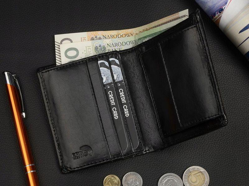 PIERRE ANDREUS portfel skórzany męski RFID M004 czarny na Arena.pl