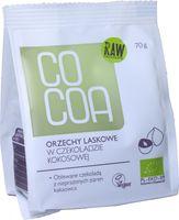 ORZECHY LASKOWE W CZEKOLADZIE KOKOSOWEJ BIO 70 g - COCOA