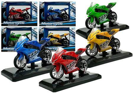 Sportowy Motocykl Z Dźwiękami 1:18 4 Kolory