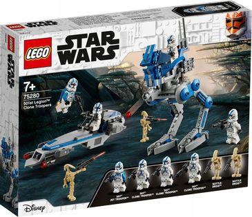 LEGO STAR WARS Żołnierze-klony z 501 legionu 75280