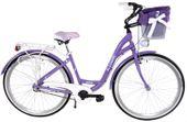 Kozbike Rower miejski 28 damski damka 3biegi ALUMINIUM 10-09 +kosz