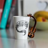 Kubek Muzyka - Skrzypce zdjęcie 2