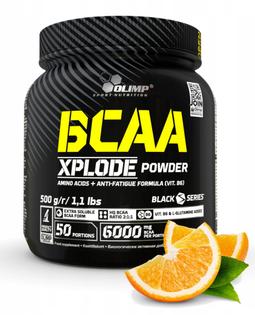 BCAA Xplode 500g pomarańcza suplement Olimp