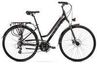 """Rower Romet Gazela 2 L (19"""") czarny/ różowy"""