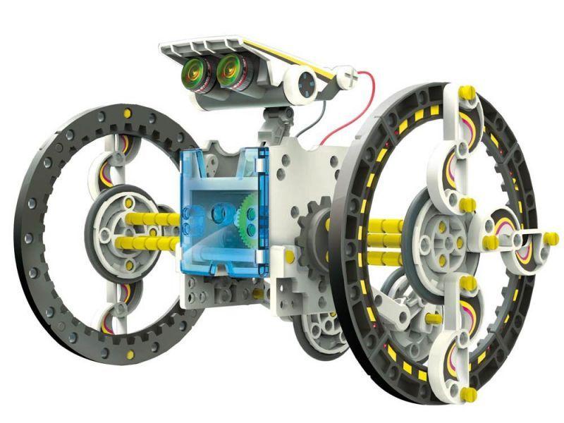 Zestaw Solarny Robot 14w1 14 RÓŻNYCH ZABAWEK ! zdjęcie 1