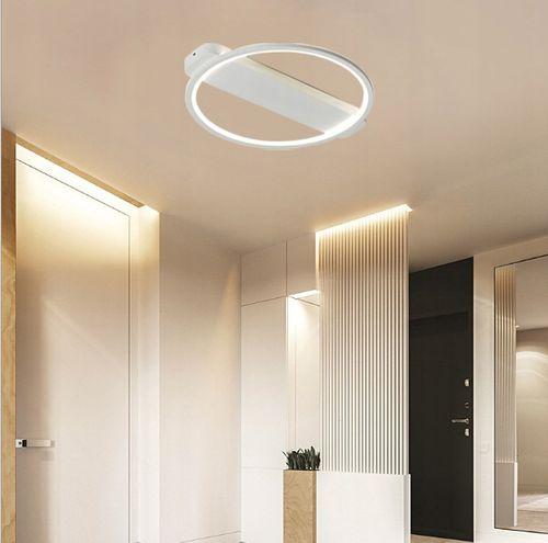 Lampa LEO II sufit ring PLAFON okrąg żyrandol 52cm LED 28W Wobako na Arena.pl
