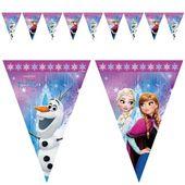 BANER flagi FROZEN kraina lodu ELSA na urodziny