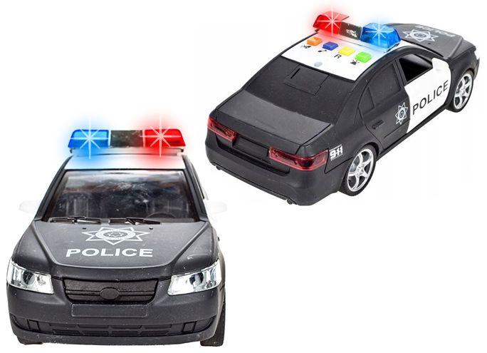 Samochód policyjny Radiowóz interaktywny dźwięki i światła Y259 zdjęcie 8