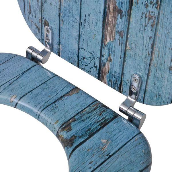 Deska klozetowa, wzór drewna zdjęcie 6
