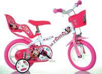 Włoski rower rowerek Minnie Mouse 12 cali Myszka Disney 12 cali