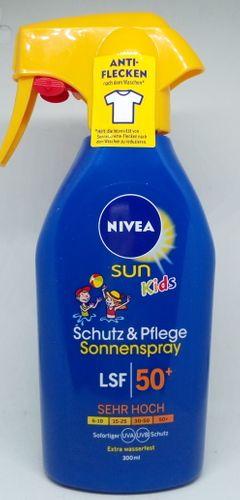 NIVEA SUN Kids spray ochronny wysoki filtr 50+ na Arena.pl
