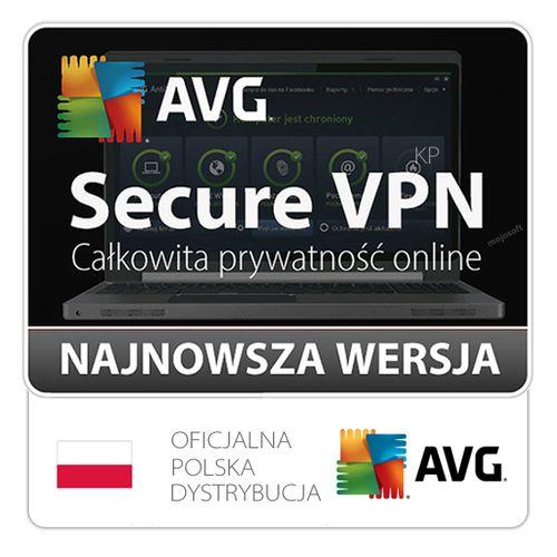 AVG Secure VPN 1PC / 2 lata na Arena.pl