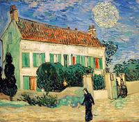 Reprodukcje obrazów White house night - Vincent van Gogh Rozmiar - 70x60