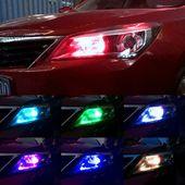 żarówka LED T10 12V RGB CANBUS +pilot zdjęcie 6