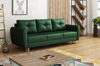 Sofa Skandynawska MANSTAD butelkowa zieleń velvet