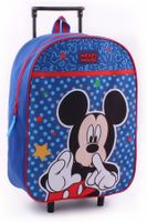 Torba walizka na kółkach Mickey Mouse Licencja Disney (088-8614)