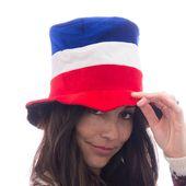 Czapka z Flagą Francji